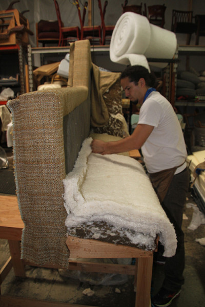 Upholstery Classes Gq Interior Handcrafted Furniture